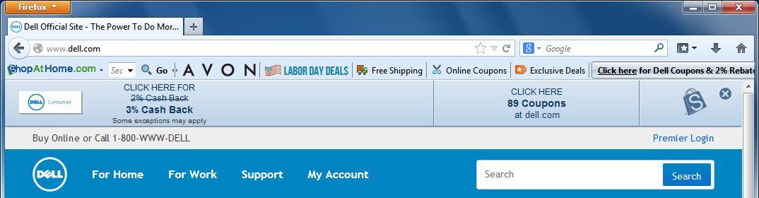 [Image: ShopAtHome.com virus]