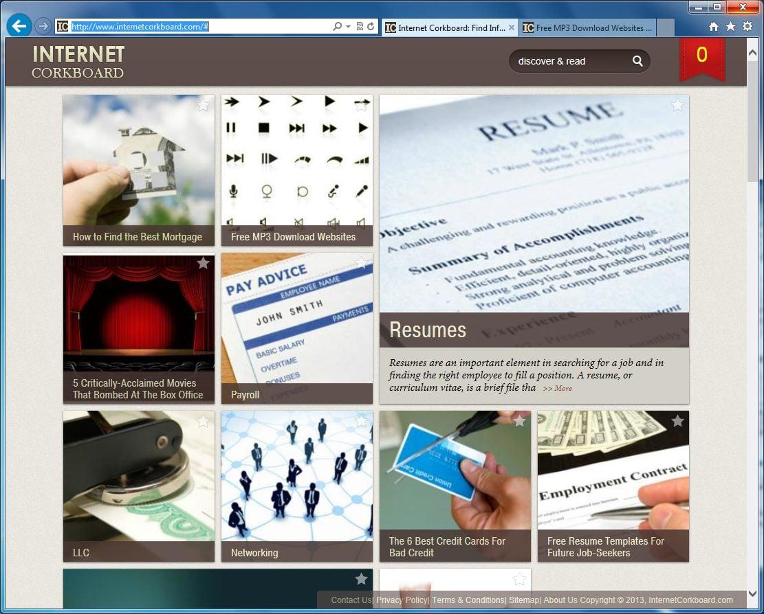 Mac Virus Removal >> Remove InternetCorkboard.com virus (Removal Guide)
