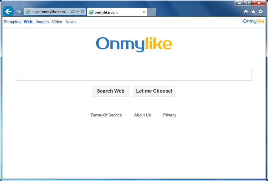 Remove Onmylike.com redirect (Virus Removal Guide)