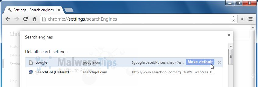 [Image: SearchGol.com Customized Web Search Chrome]