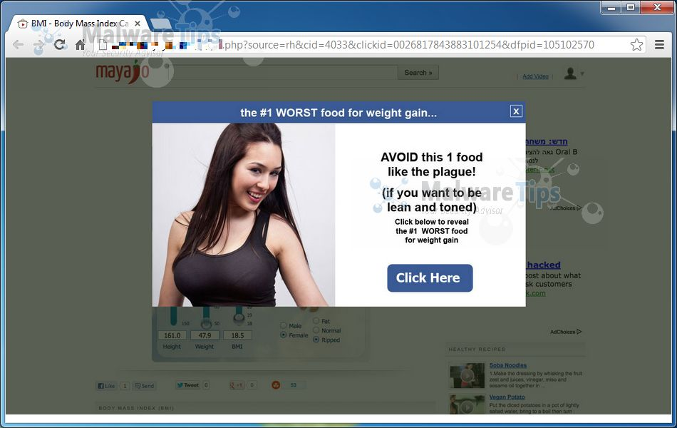 [Image: Web.longfintuna.net pop-up virus]