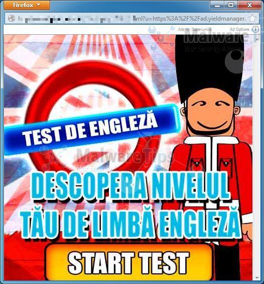 [Image: Ads by SuperLyrics pop-up ads]