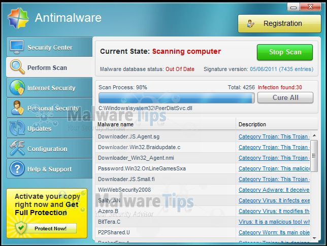 "Remove ""Antimalware"" virus (Removal Guide)"