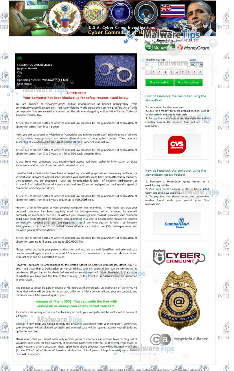 [Image: Cyber Command of Pennsylvania virus]