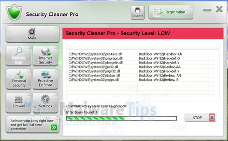 [Image: Security Cleaner Pro virus]