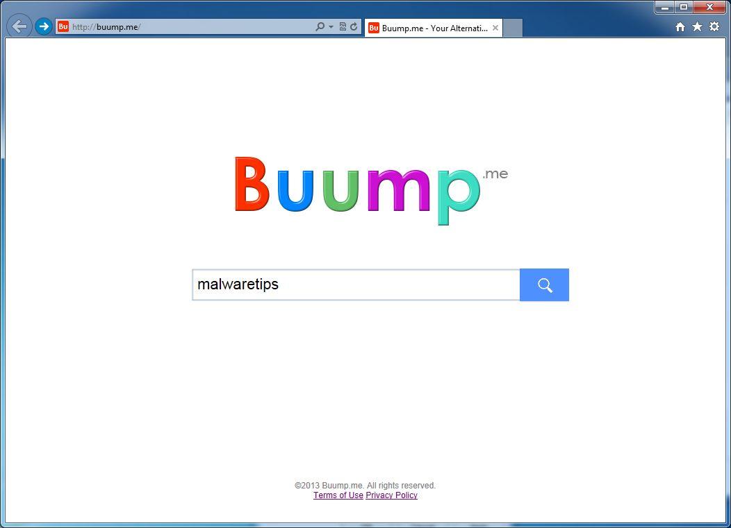 [Image: Buump.me virus]