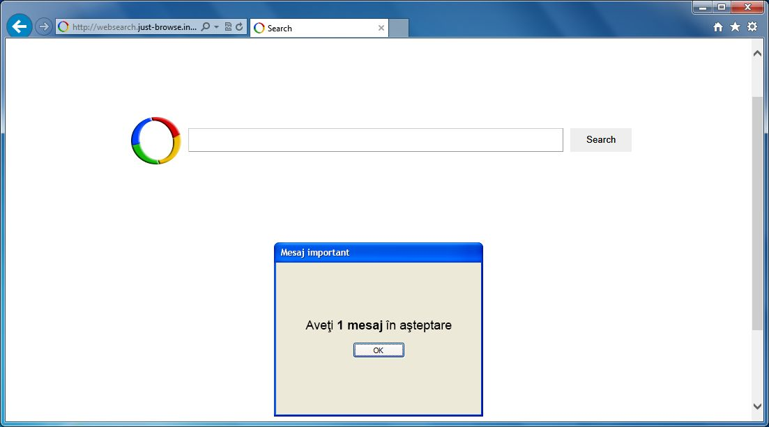 [Image: Websearch.just-browse.info virus]