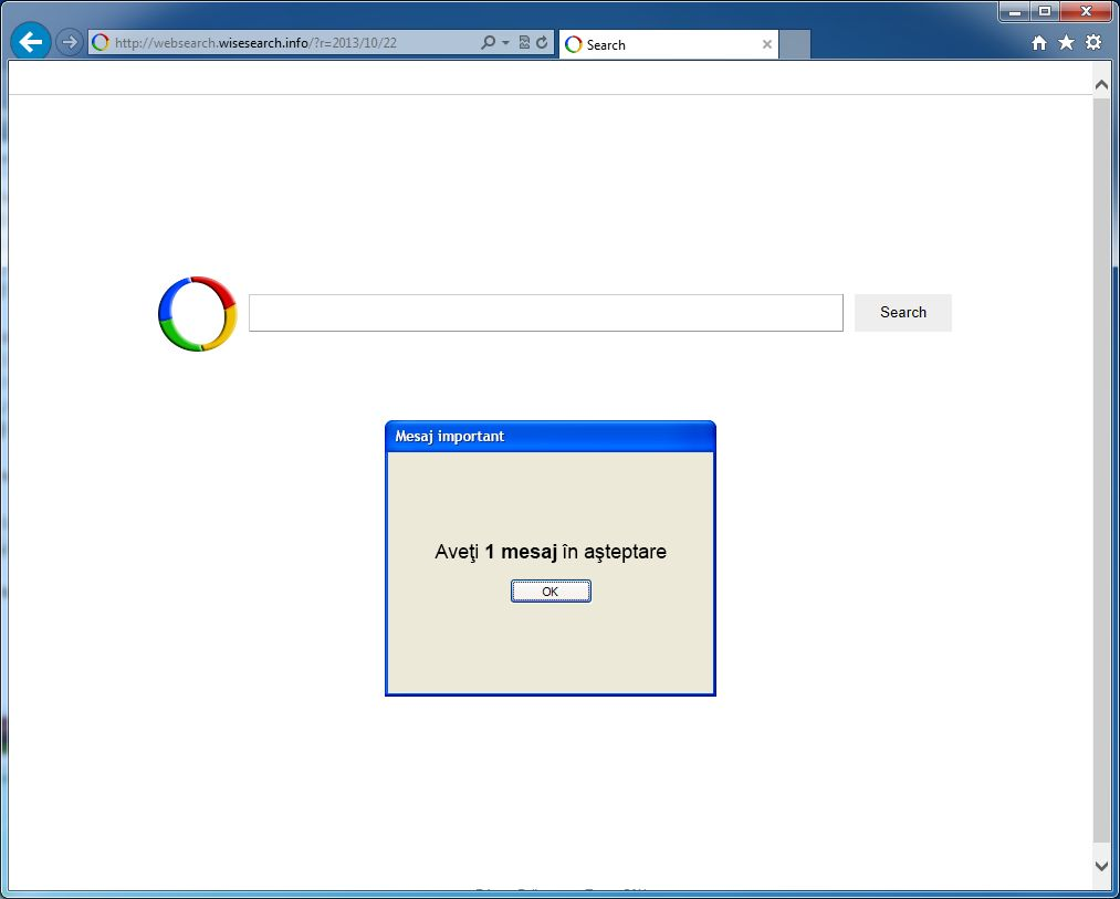 [Image: Websearch.wisesearch.info virus]