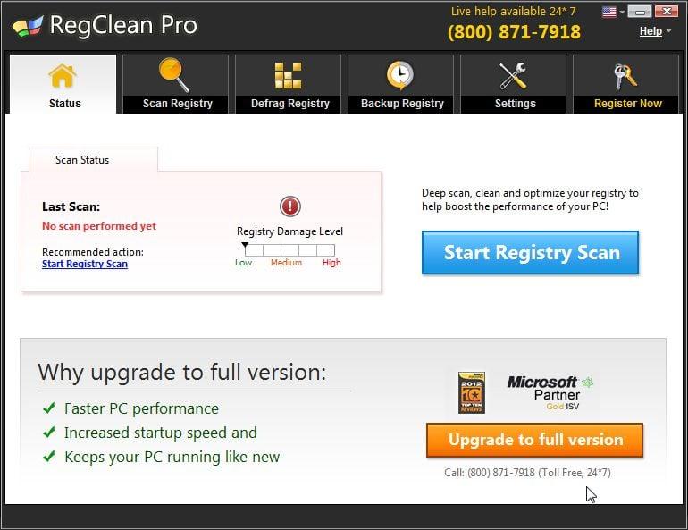 [Image: RegClean Pro system optimizer]