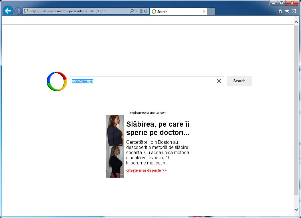 [Image: Websearch.searchisbestmy.info virus]