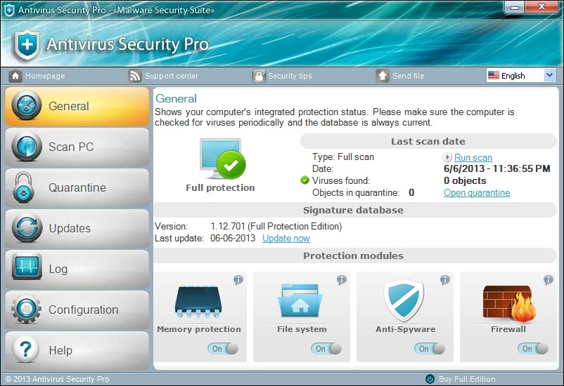 [Image: Antivirus Security Pro 2014 virus]