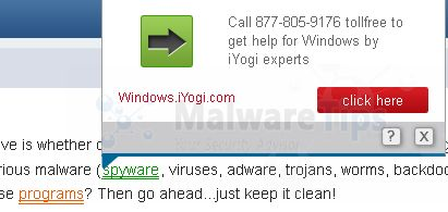 [Image: BuzzIT pop-up virus]