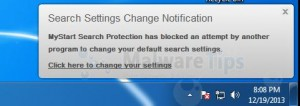 Remove MyStart Search Protection (Virus Removal Guide)