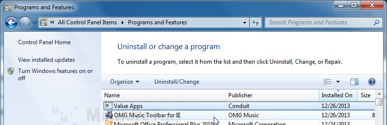 How To Remove Omg Music Toolbar Virus Removal Guide