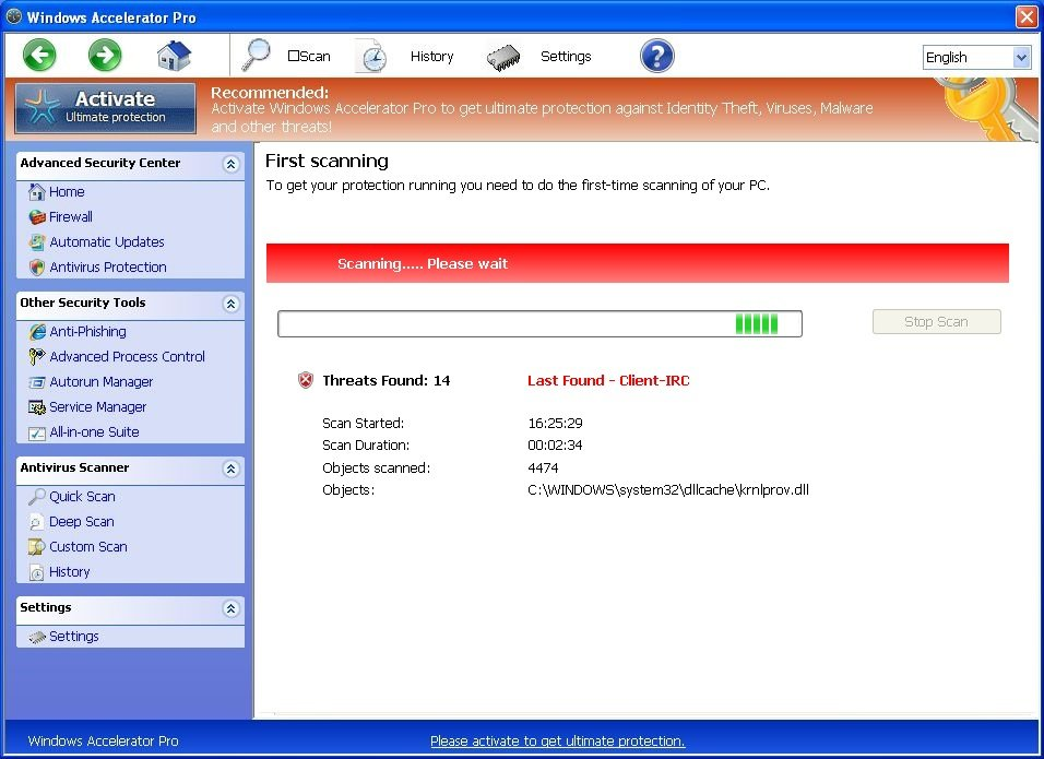[Image: Windows Accelerator Pro malware]