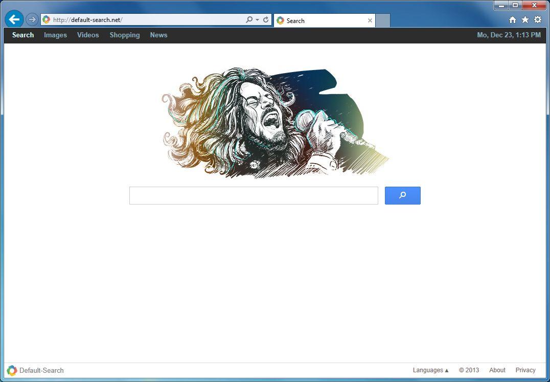 [Image: Default-Search.net virus]