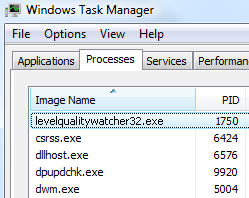 Imagee: levelqualitywatcher32.exe by Adpeak