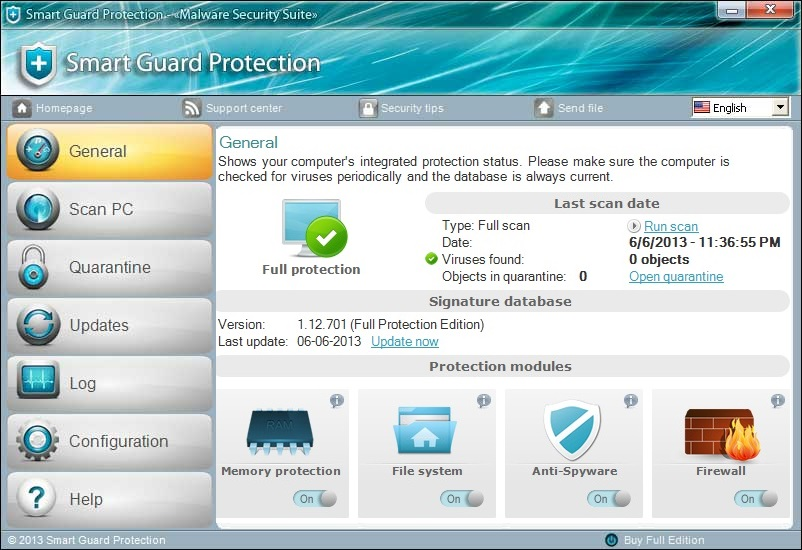 [Image: Smart Guard Protection Malware Security Suite]