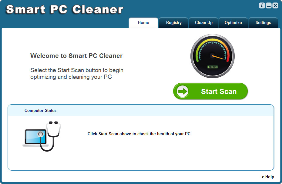 [Image: Smart PC Cleaner malware]