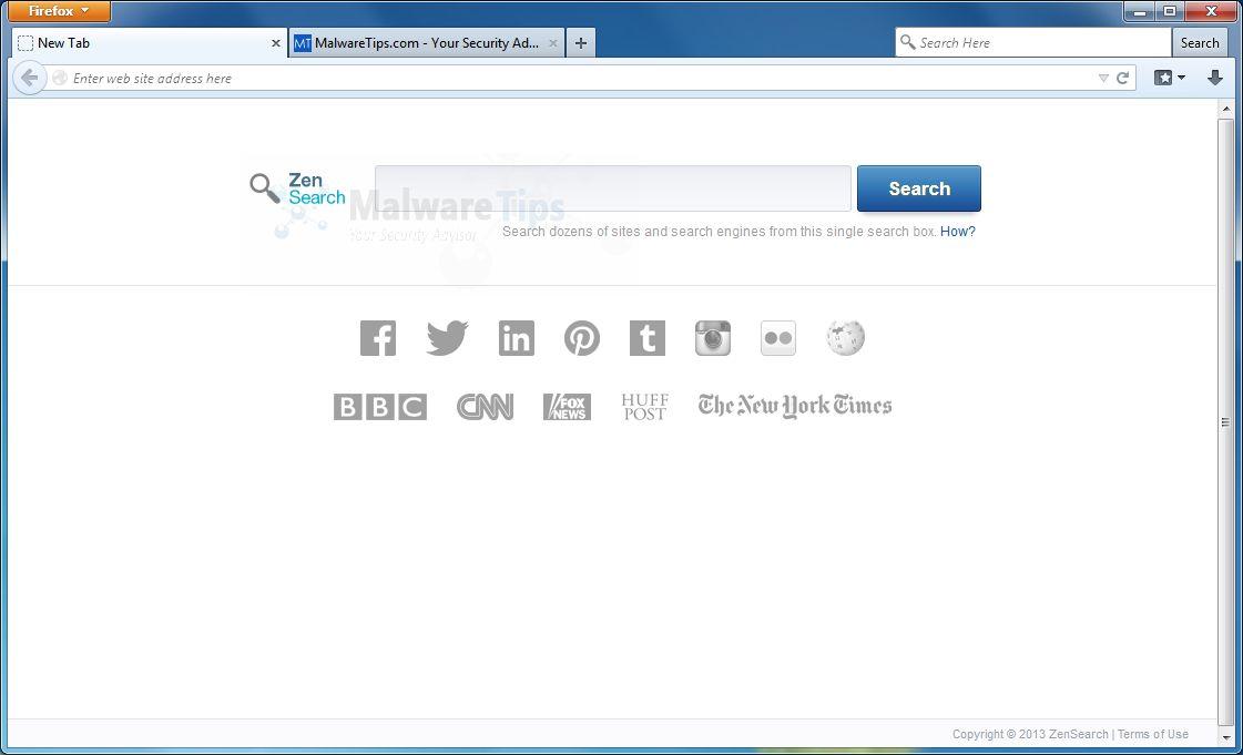 [Image: ZenSearch.com virus]