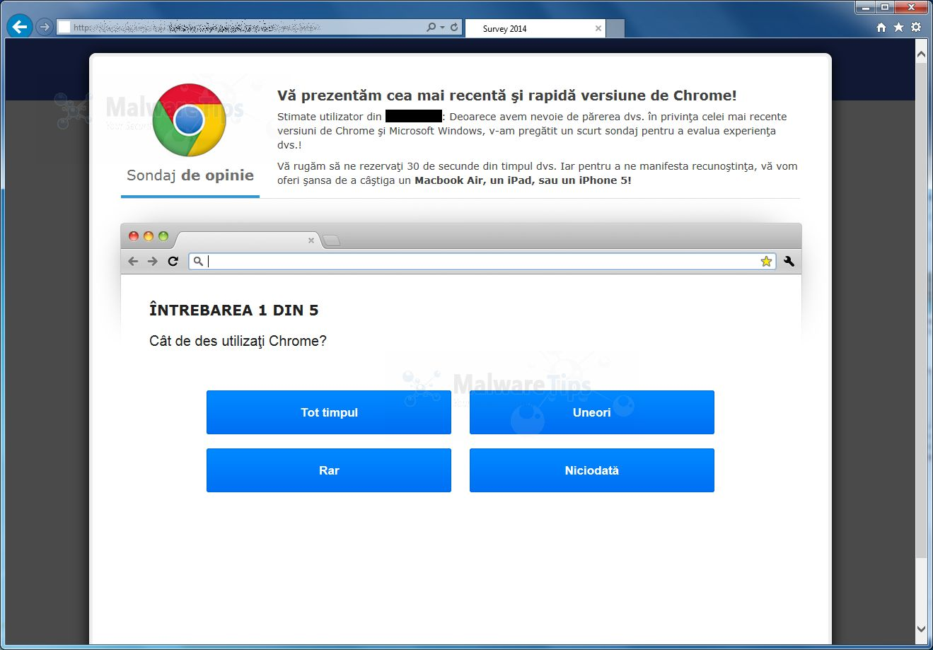 how to bypass download surveys google chrome