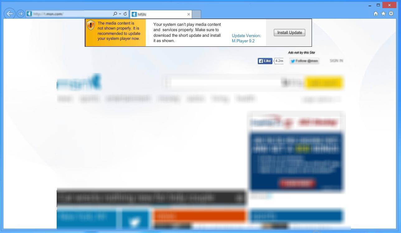 [Image: Adware:Win32/Adpeak virus]