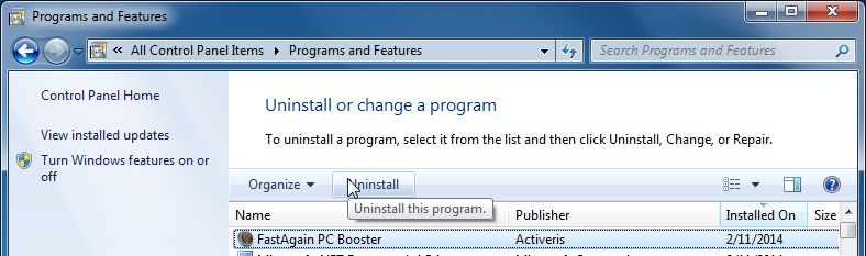 fastagain pc booster activation key