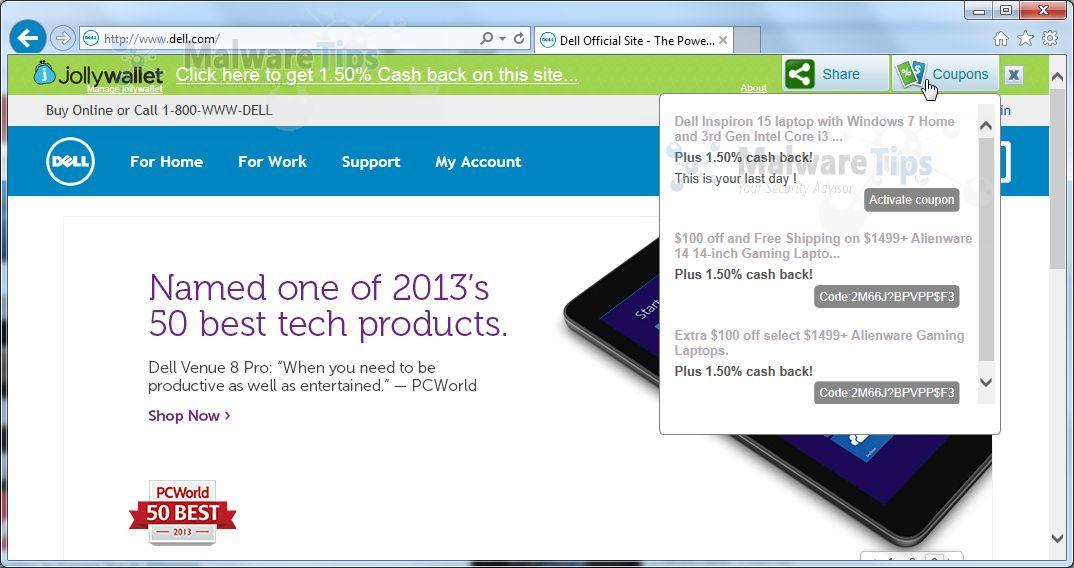 [Image: Shopop pop-up ads]