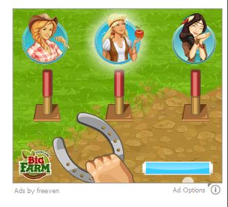 Picture of Ads by Freeven virus