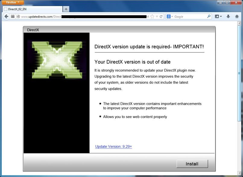 how to update your directx