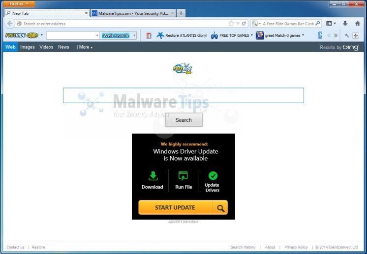 Remove FreeRide Games Toolbar (Virus Removal Guide)