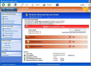 """How to remove """"Windows Pro Defence Kit"""" (Virus Removal Guide)"""
