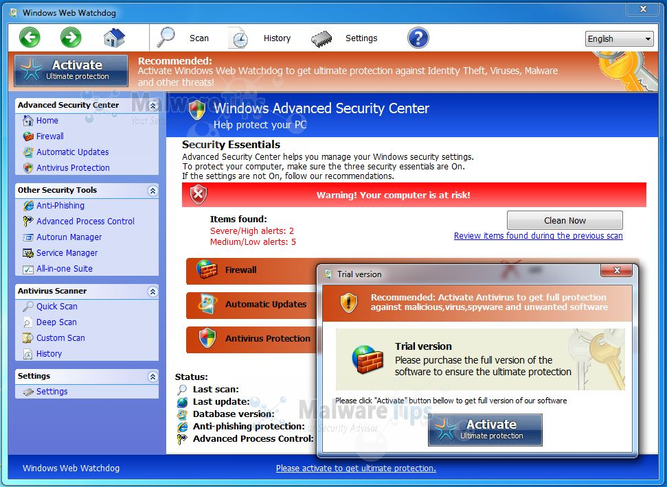 """Mac Virus Removal >> How to remove """"Windows Web Watchdog"""" virus (Removal Guide)"""