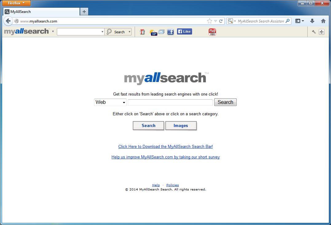All-czech.com Search Virus Removal (Chrome/Firefox)