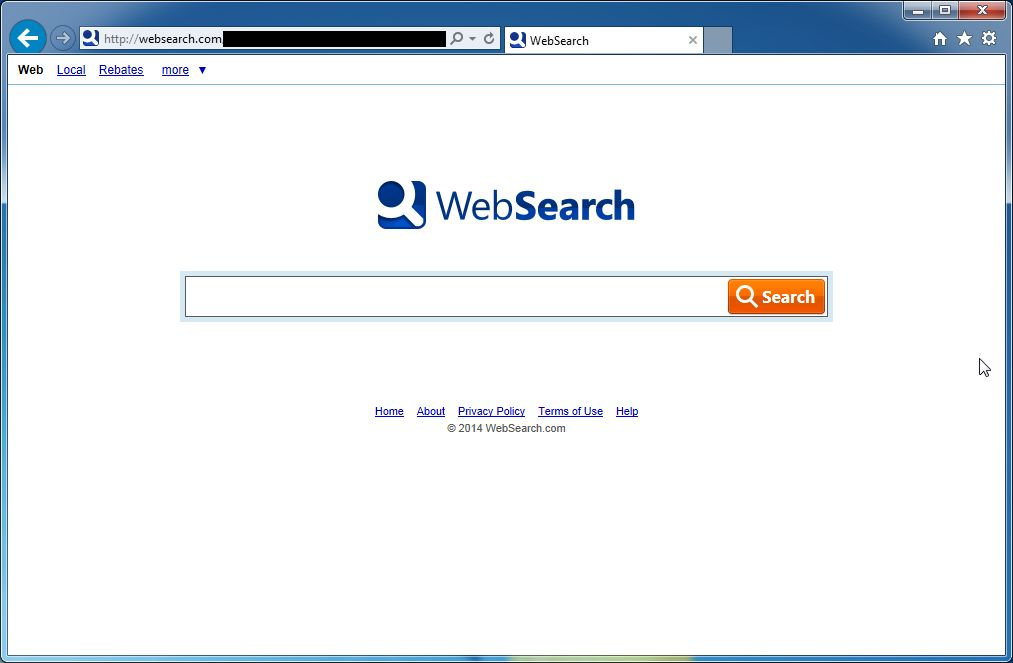 Remove WebSearch Toolbar And WebSearch.com (Removal Guide