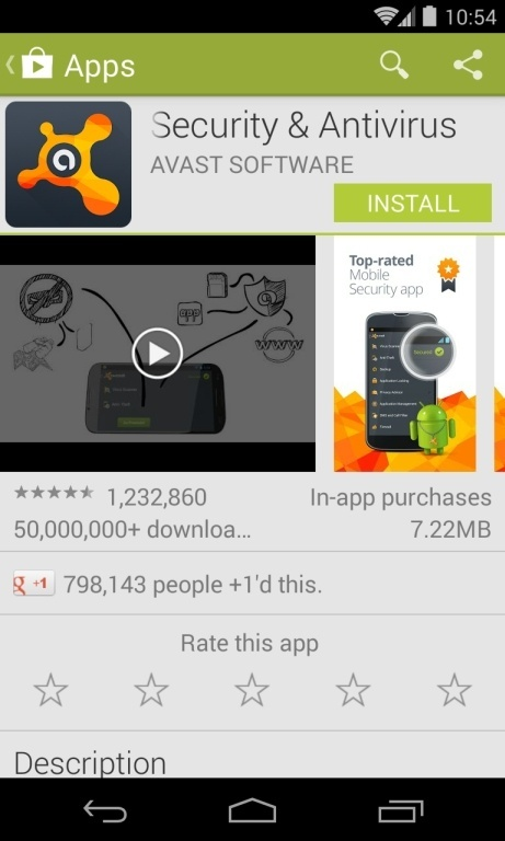 [Image: Install Avast Mobile Security on your Android phone]