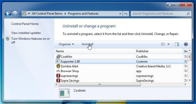 uninstall websteroids completely