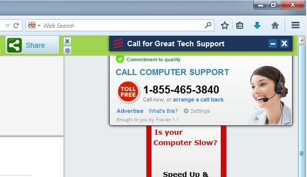 Pop Up Computers : Remove quot call computer support pop up ads removal guide