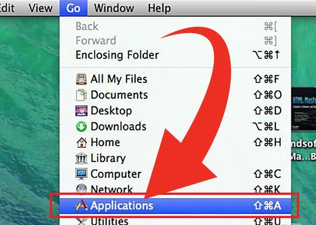 Applications on Mac OS X