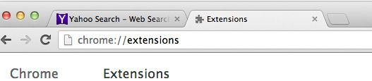 Mac OS X Chrome extensions
