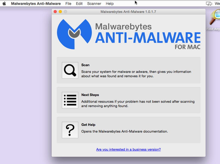 Malwarebytes For Mac Scan