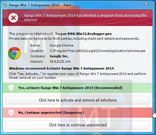 "Remove ""Rango Win 7 Antispyware 2014"" virus (Guide)"