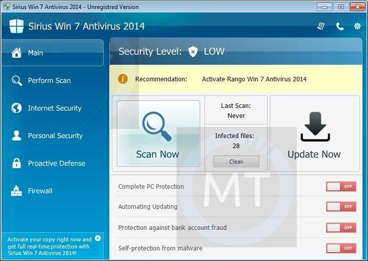 "Remove ""Sirius Vista Antivirus 2014"" virus (Uninstall Guide)"