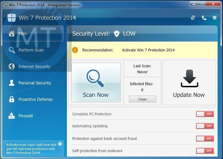 Remove Zorton Win 7 Protection 2014 virus (Guide)