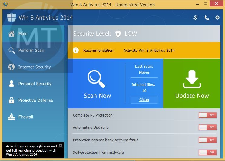 [Image: Zorton Win 8 Protection 2014 virus]
