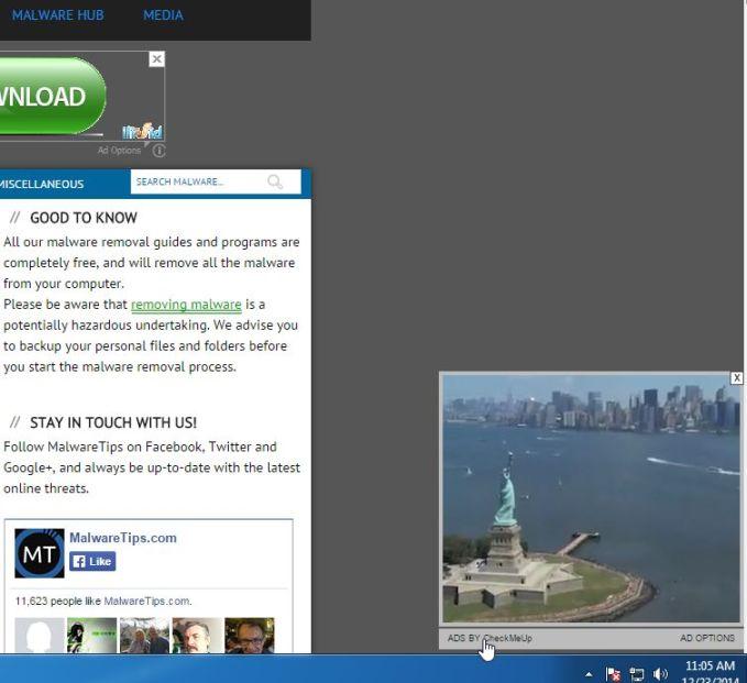 sliding ads virus - How To Get Rid Of Side Ads On Google Chrome