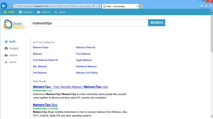 Inspsearch.com virus