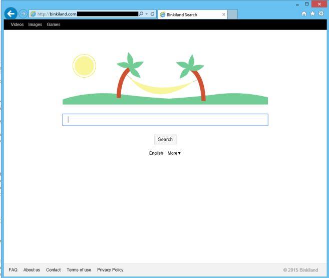 Remove Binkiland.com hijack (Virus Removal Guide)