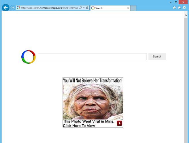 Remove Websearch.homesearchapp.info virus (Free Guide)