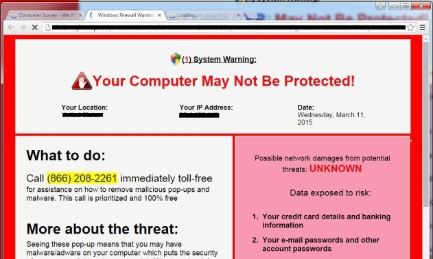 Remove Critical-security-alert.info virus (Tech Support Scam)